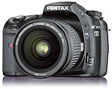 Pentax K10D (source Pentax)